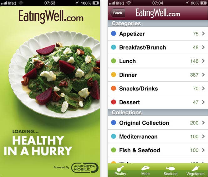 17 great apps for anyone trying to eat healthier this app contains a database of exclusively healthy professionally written and tested recipes illustrated with forumfinder Gallery