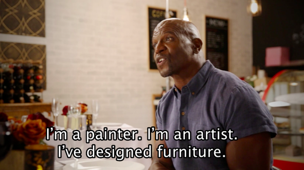 Terry opened up about his passions in life...