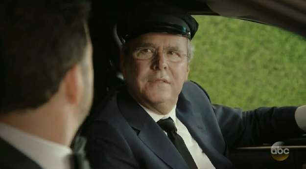 Jeb Bush himself was in the opening sketch.