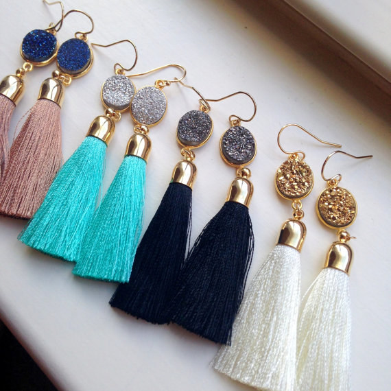 These statement earrings.