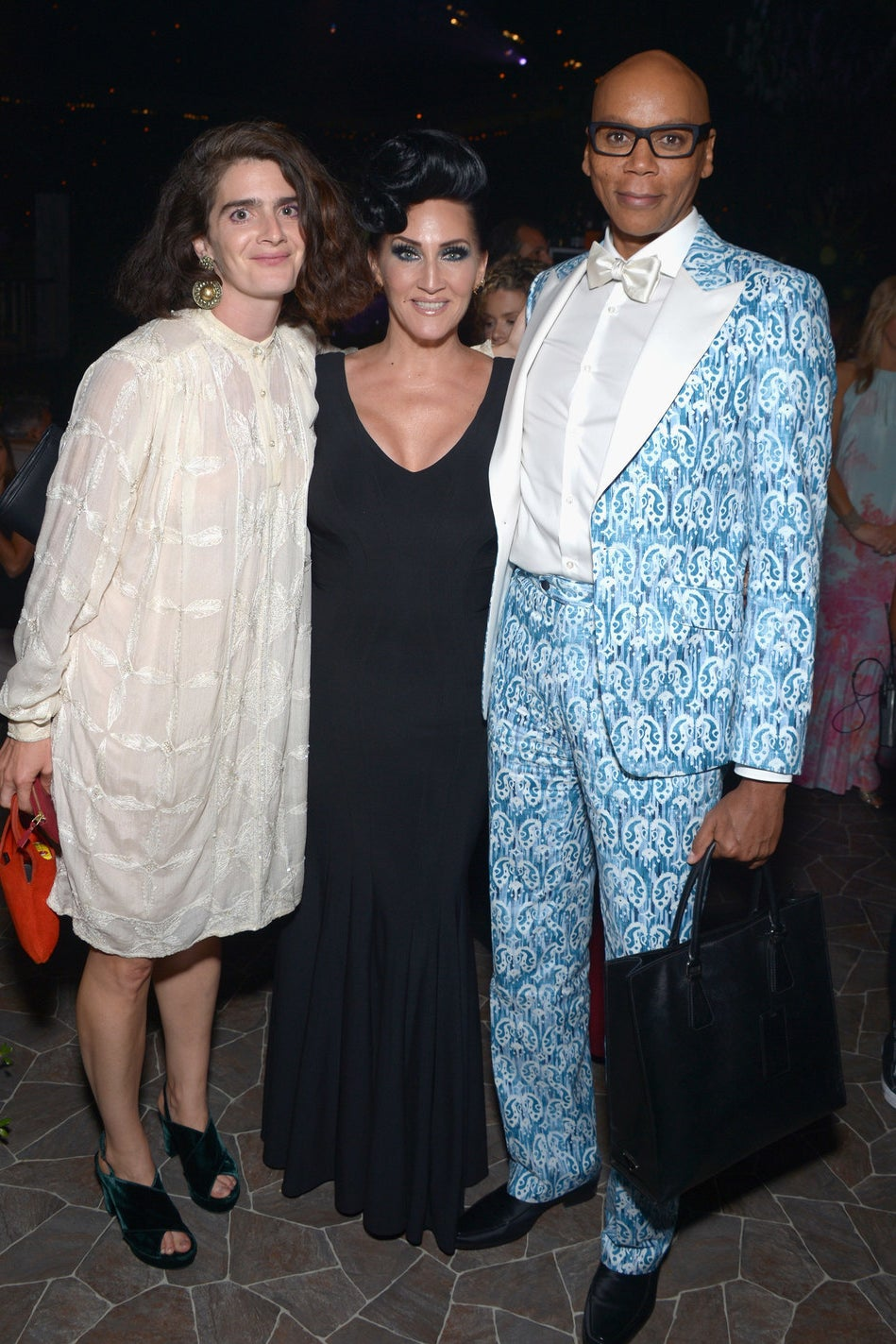 Gaby Hoffmann, Michelle Visage and Ru Paul