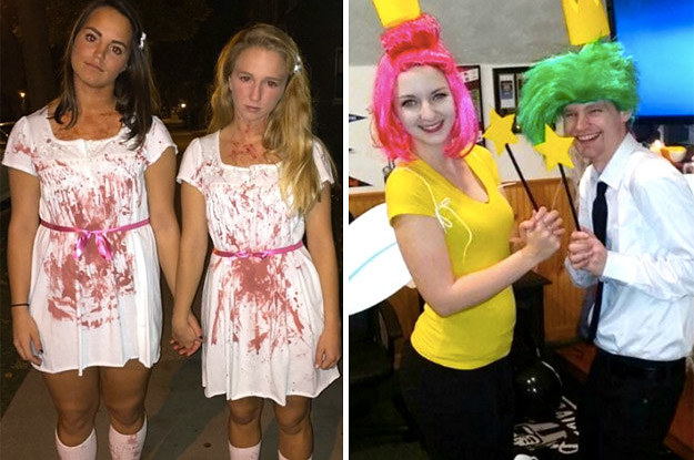 sc 1 st  BuzzFeed & 31 Two-Person Halloween Costumes That Are Borderline Genius