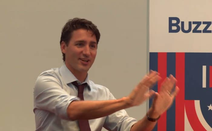 """""""Actually I don't know if I've ever met the guy,"""" Trudeau said, chuckling at the question. """"But I'm a fan,"""" he added. """"He does a really good job of what he does, or so my kids say, and I do a decent job of what I'm doing.""""The prime minister also said he believes that between the two of them, Drake is the better dancer. """"But that's such a low bar,"""" he joked."""