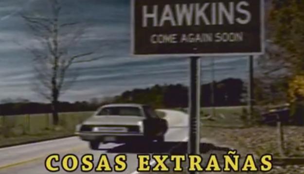 Y viajó a Hawkins, para encontrar respuestas.