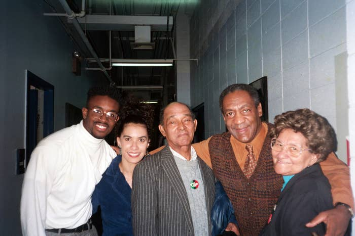 Lili Bernard, second from left, with Bill Cosby.