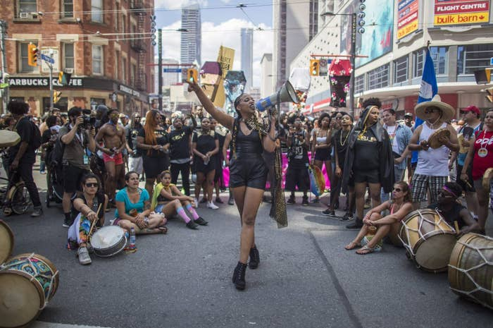 Among those demands was increased funding and support for black spaces at Pride and the removal of police floats from the parade.