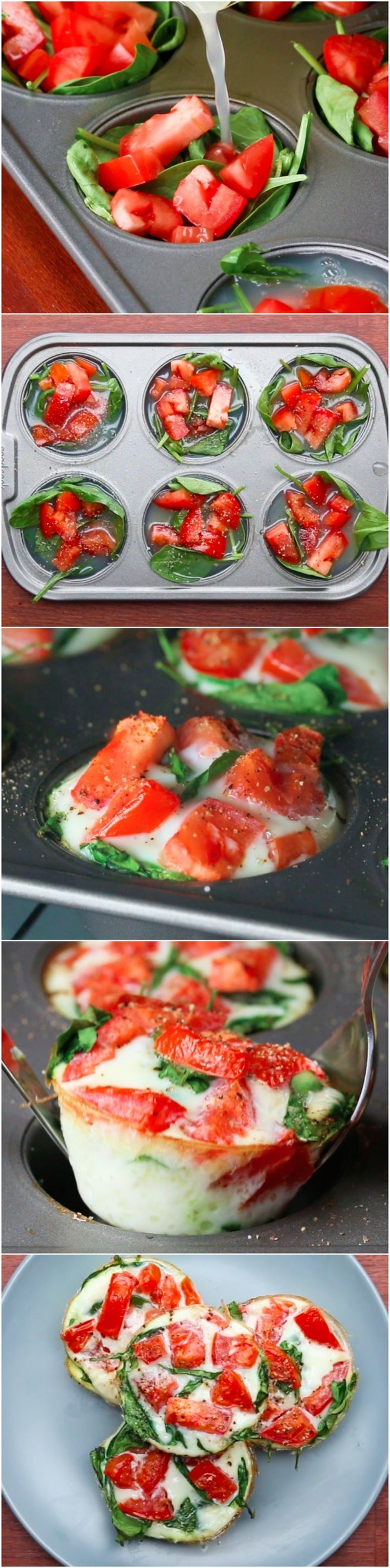 Healthy Egg White Breakfast Cups