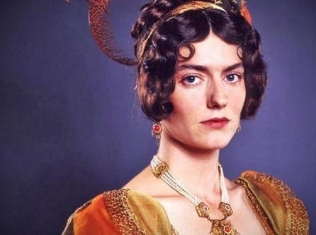 Anna Chancellor as Caroline Bigley in the TV miniseries adaptation of Pride and Prejudice