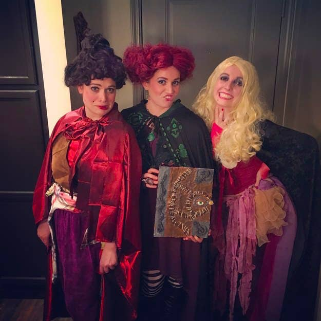 10 the sanderson sisters from hocus pocus