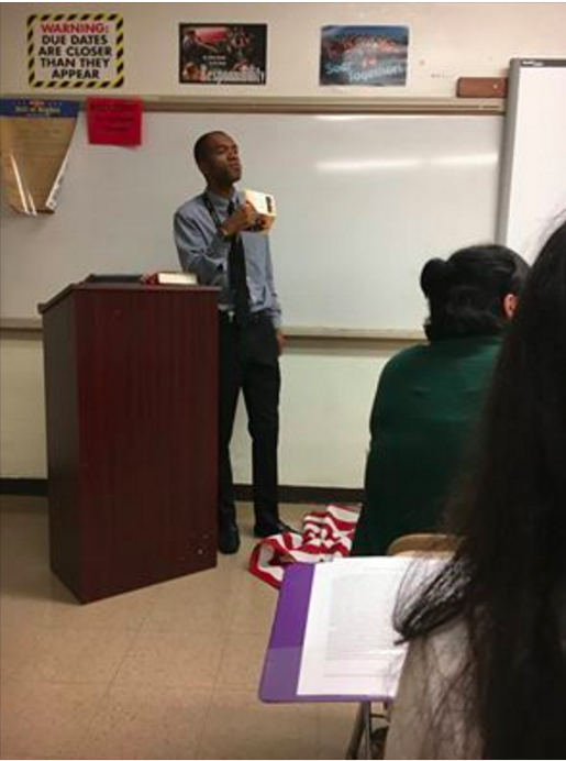 "Lee Francis was teaching a junior-level American History class at Massey Hill Classical High School about Texas v. Johnson, in which the US Supreme Court upheld that the desecration of the Stars and Stripes was protected by the First Amendment, the Fayetteville Observer reported. Both Francis and school officials confirmed to BuzzFeed News that he was placed on paid administrative leave pending an investigation into the incident that took place on Monday. Pete Horne, the assistant to the superintendent of Cumberland County Schools, told BuzzFeed News that the district began investigating Francis after receiving ""an enormous amount of complaints"" about his actions. Horne said the investigation would likely conclude on Wednesday."