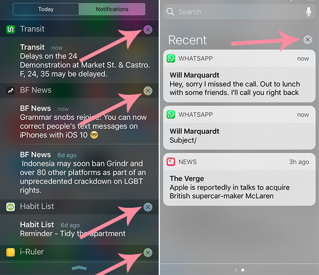 En lugar de eliminar las notificaciones una a una, puedes eliminar todas ellas con un solo toque.