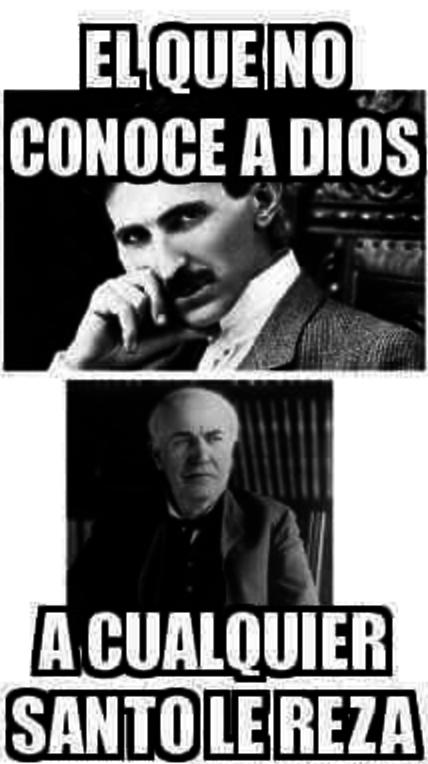 Edison no era un santo, él era el Diablo.