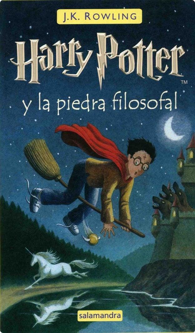 Hace 19 años salió el primer libro de Harry Potter: Harry Potter y la piedra filosofal.