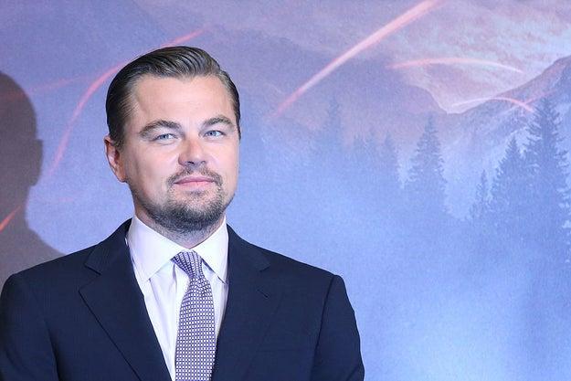 Leonardo DiCaprio tiene 41 años.