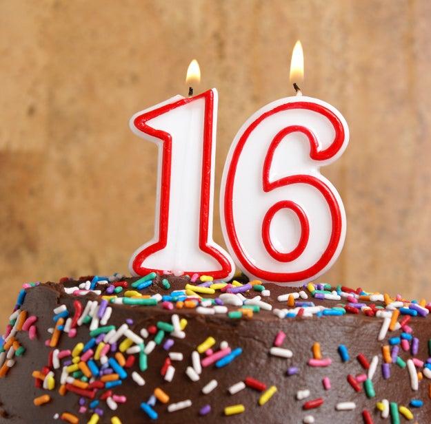 Todos los que nacieron en el 2000 tienen (o están por cumplir) 16 años.