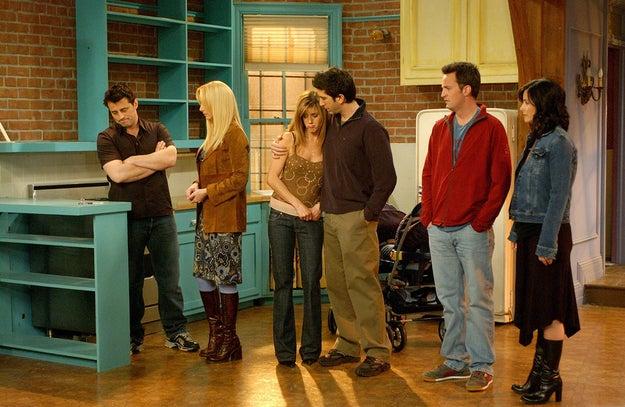 El mismo tiempo que ha pasado desde el último capítulo de Friends.