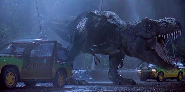 Y hace 23 años que viste a estos dinosaurios por primera vez.
