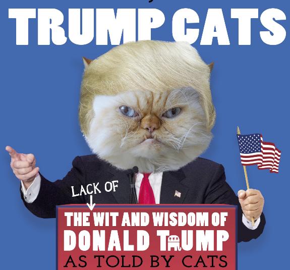 Deja que un grupo de tiernos gatitos te explican la ~peculiar~ forma de pensar de Trump ($204).