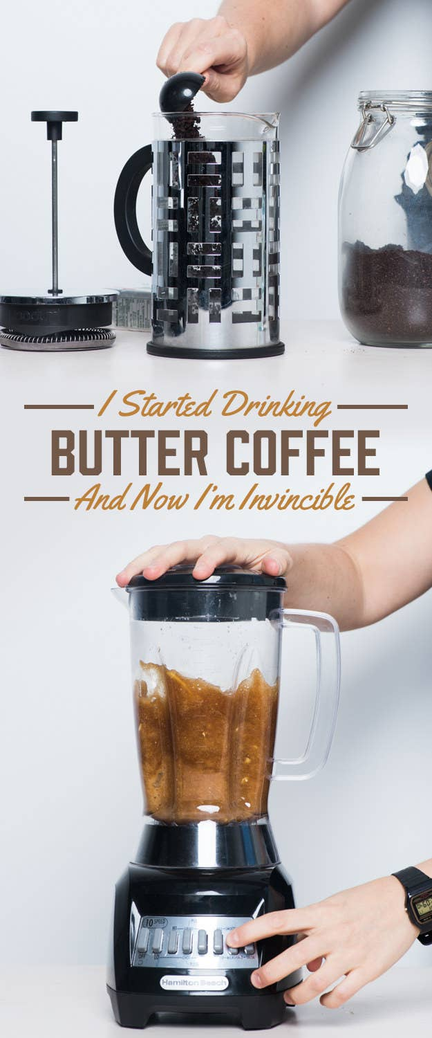 I Drank Butter Coffee For A Month And It Was More Magical Than I