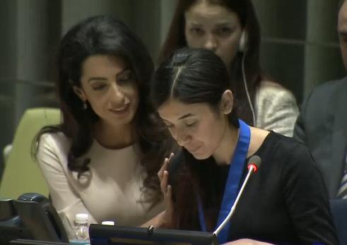 性奴隷にされた難民女性が国連親...