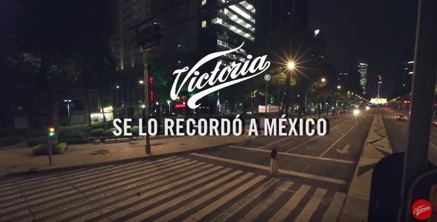 El video es parte de una campaña de publicidad de cerveza, enfocada en las leyendas mexicanas, en preparación para Día de Muertos.