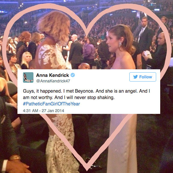 22 Times Celebrities Fangirled Over Other Celebs On Twitter