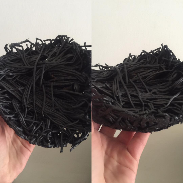 This isn't squid ink pasta...