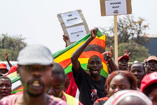 The biggest protests in two decades began in April after a video posted by a pastor using #ThisFlag released a flood of public anger.
