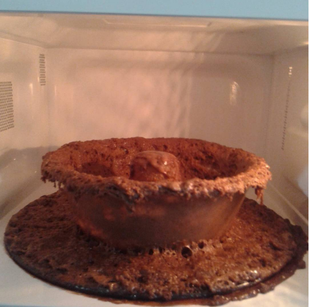 You can't even be left alone with the microwave.