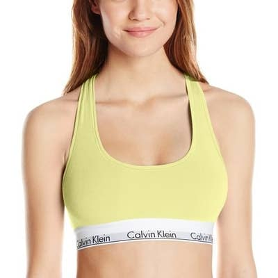 b38fcffe1f7 Cotton bralettes from Calvin Klein that you can wear for almost any  occasion.