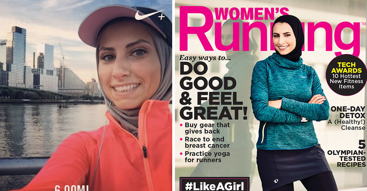 A US Fitness Magazine Put A Hijabi Woman On Its Cover And People Are Psyched - BuzzFeed
