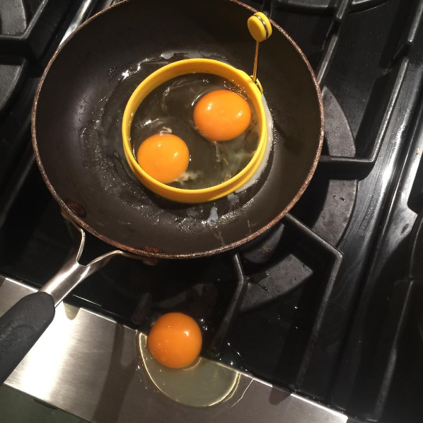 You're literally using a device intended to keep your eggs centralized!