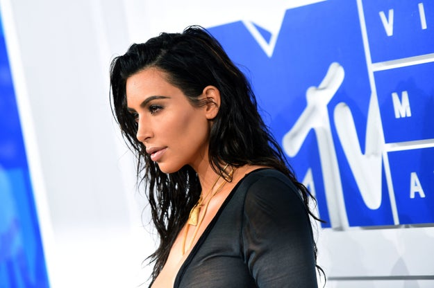 """On Friday, an alleged quote from Kim Kardashian started circulating on social media: """"At first I thought, 'Oh my god, I'm so Hillary [Clinton],' but I had a long political call with Caitlyn [Jenner] last night about why she's voting Trump. I'm on the fence."""""""