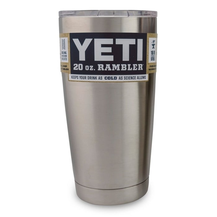 """""""Invest in a Yeti Tumbler, and thank me later. Especially if you carry a drink with you everywhere. I accidentally left this in my car overnight in the summer and 24 hours later my water was STILL ICE COLD!!"""" —gabriellen45185b28bGet it on Amazon for $27."""
