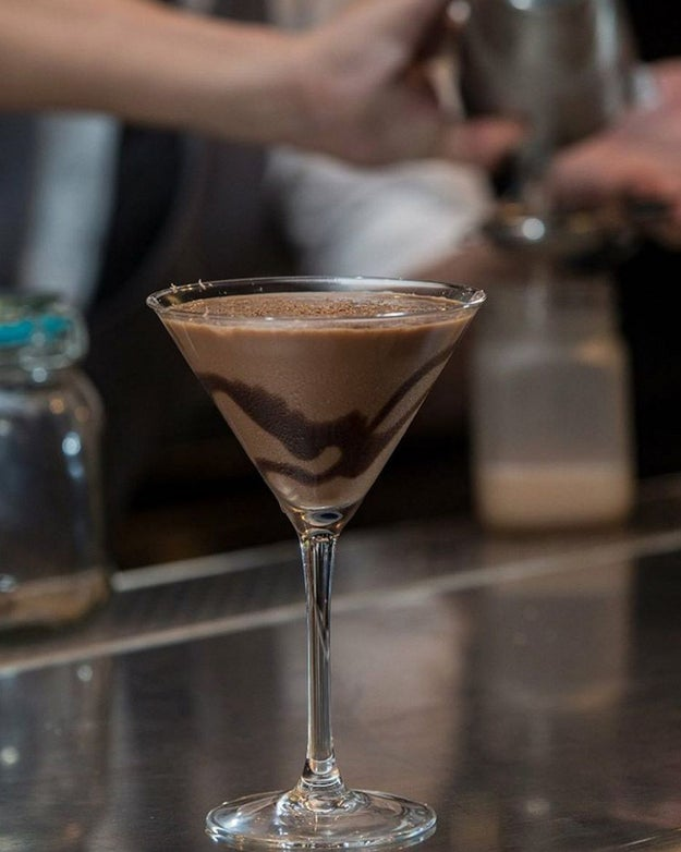 "Mix up drinks and dessert with ""dessert cocktails"" at Reform Social & Grill."