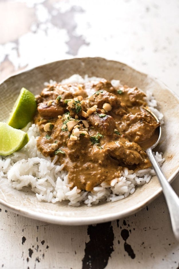 Chicken Satay Curry