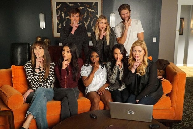 "But most importantly, she lived out our ""shh"" dreams with all of the cast on set that day."