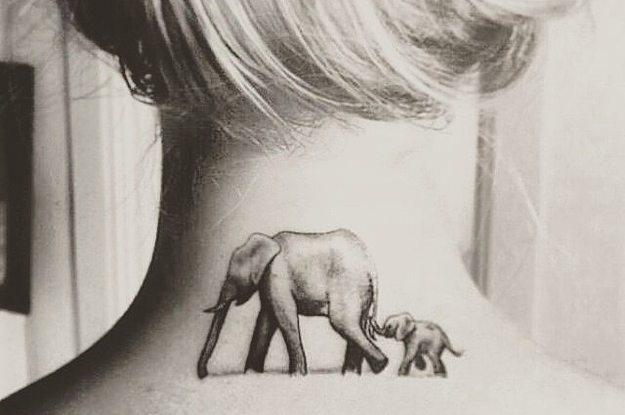 21 Tatouages Fabuleux Avec Des Elephants