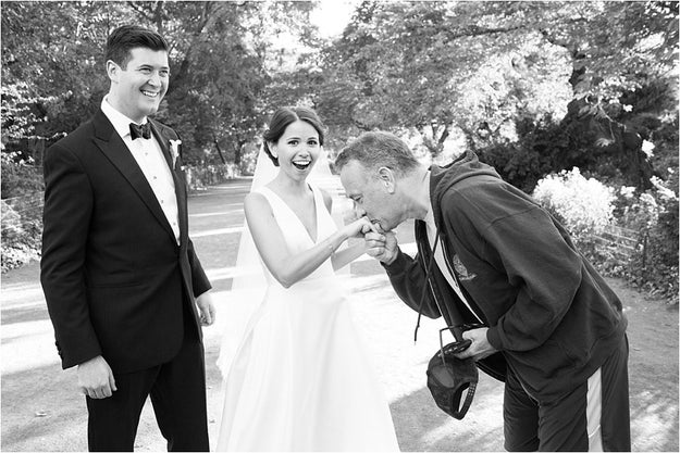 New news: Tom Hanks is also the most wonderful wedding photo crasher ever!