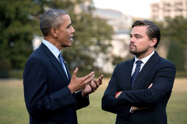It all started with this picture of President Obama and Leonardo DiCaprio*.