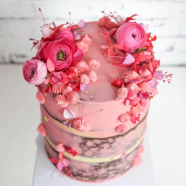 ¿Me van a decir que todo pastel nace así de perfecto?