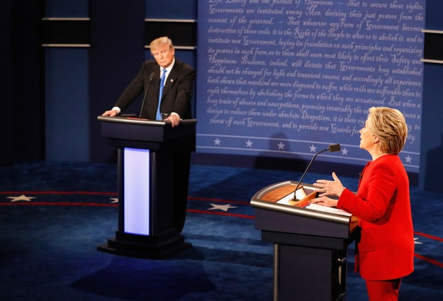 Donald Trump Made A Number Of False Claims During The Debate