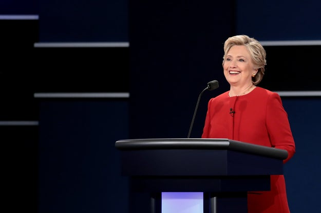 "At Debate, Clinton Calls Out Trump For Calling Women ""Pigs, Slobs, and Dogs"""