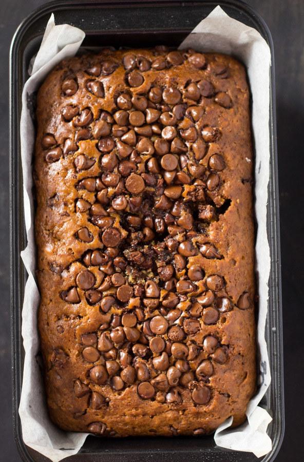 Cinnamon Chocolate Chip Bread