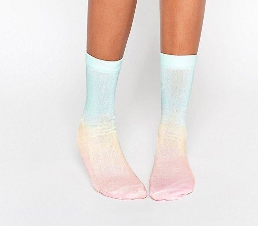 Your mermaid friend would be proud.Get them from ASOS for $6.