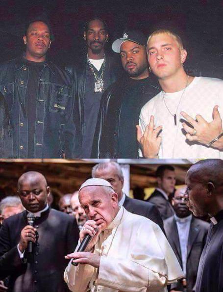 Dr. Dre, Snoop Dogg, Ice Cube y Eminem crecieron para verse así, ¿te sientes viejo?