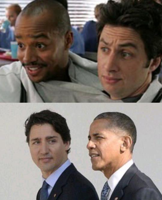 Turk y J.D. siguen siendo mejores amigos, pero ahora se ven mucho mejor.