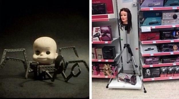 ¿Dirías que este juguete aterrador de Toy Story se superó, o no tanto?