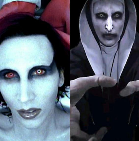 Marilyn Manson era aterrador hace unos años, pero ahorita no tiene madre...