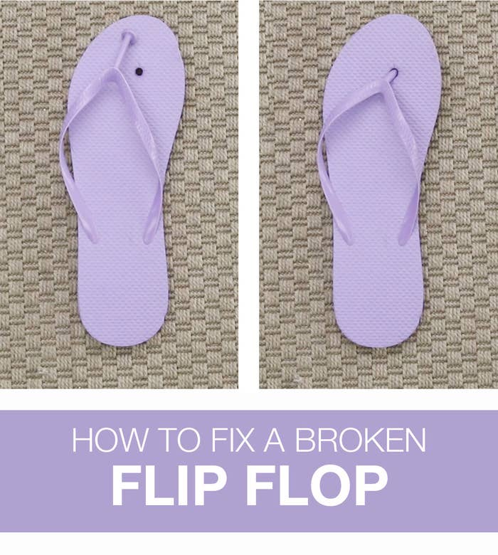 150253bf9736 Fix A Broken Flip Flop With These Easy Repair Hacks